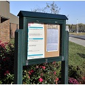 Medium Hinged Outdoor Message Centers by Jayhawk Plastics
