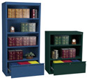 Click here for more Metal Bookcases w/ File Drawer by Sandusky Lee by Worthington