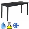 Phenolic Resin Metal Frame Science Tables by Diversified