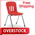 "Overstock Special- 18"" Metaphor School Chairs by Virco"