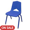MG1101 Stack Chair w/ Matching Legs by Marco Group