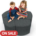 Click here for more Economy Shapes Modular Lounge Seating by Mooreco by Worthington