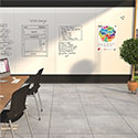 Click here for more Unity Dry Erase Glass Wall by Mooreco by Worthington