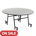 Click here for more Standing Height EZ-Tilt  Mobile Cafeteria Tables by Amtab by Worthington