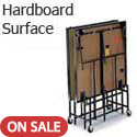 Deluxe Mobile Portable Stages with Hardboard Surface by Midwest