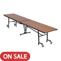 Mobile Rectangle Cafeteria Tables by Amtab