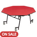 Click here for more Mobile Shape EasyFold Tables - Octagon Top by NPS by Worthington