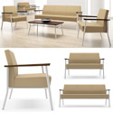 Mystic Lounge Open Arm Series Seating by Lesro