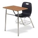 N2 Series Combo School Desk by Virco