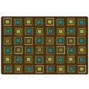 Nature's Square's Seating Rug by Carpets for Kids