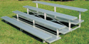 Click here for more Low Rise Bleachers by National Recreation Systems by Worthington