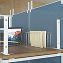 Click here for more Freestanding Tempered Glass Screen Guards by NDI Office Furniture by Worthington