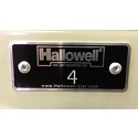 Locker Number Plates by Hallowell