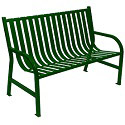 Oakley Collection Slatted Benches by Witt