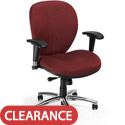 Ergonomic Task Chair w/ Chrome Base by OFM
