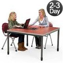 Click here for more Electric Ready Mesa Workstation by OFM by Worthington