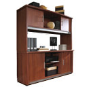 Click here for more Milano Executive Credenza and Hutch by OFM by Worthington