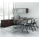 Click here for more Variant L-Shaped Desk Suite by OfficeSource by Worthington