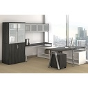 Click here for more Variant U-Shaped Desk with Hutch by OfficeSource by Worthington