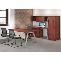 Click here for more Variant Desk Suite with Wardrobe Cabinet by OfficeSource by Worthington