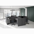 Click here for more OS Laminate L-Shaped Desk by OfficeSource by Worthington