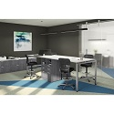 Click here for more Variant Standing Height Desk Quad by OfficeSource by Worthington