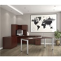 Click here for more Variant Corner Desk Suite by OfficeSource by Worthington