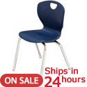 Click here for more Scholar Craft Ovation Stack Chair 24 Hour Quick Ship by Worthington