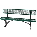 Budget Saver Outdoor Bench w/ Back by Caprock Furniture