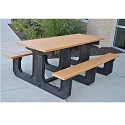 Click here for more Park Place Outdoor Picnic Tables by Frog Furnishings by Worthington
