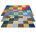 Click here for more Patchwork Seating Rug by ECR4Kids by Worthington