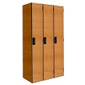 "Click here for more Versamax Phenolic Single-Tier 3-Wide Lockers (72"" H Opening) by Hallowell by Worthington"