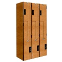 "Click here for more Versamax Phenolic Z-Tier 3-Wide Lockers (42"" H Opening) by Hallowell by Worthington"