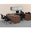 Click here for more Classic Series PL11 U-Shaped Desk Suite by NDI Office Furniture by Worthington