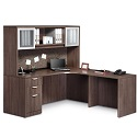 Click here for more Executive PL24 L-Shaped Desk by NDI Office Furniture by Worthington