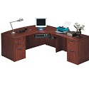 Click here for more Bow Front L Desk by NDI Office Furniture by Worthington