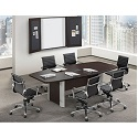 Boat Shape Conference Tables by NDI Office Furniture
