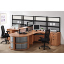 Click here for more PL Borders Series Desk Suite by NDI Office Furniture by Worthington