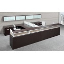 PLB144 Reception Desk Suite w/ Storage by NDI Office Furniture