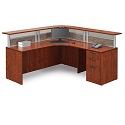 Click here for more PLB16 Reception Office Desk Suite by NDI Office Furniture by Worthington