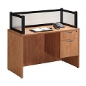 Click here for more Borders PLB5 Reception Desk by NDI Office Furniture by Worthington