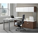 Click here for more Elements PLT1 L-Shaped Desk Suite by NDI Office Furniture by Worthington