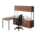 Click here for more Elements PLT10 L-Shaped Desk Suite by NDI Office Furniture by Worthington