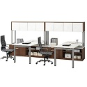 Click here for more Elements PLT11 Two Station Work Center by NDI Office Furniture by Worthington