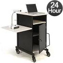 Click here for more PRC450 Jumbo Plus Presentation Cart by Oklahoma Sound by Worthington