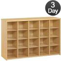 Eco 20 and 25 Tray Cubby Units by Tot-Mate