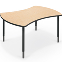 Quad Collaborative Student Desks by Mooreco