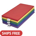 Set of Five Rainbow Rest Mats by ECR4Kids