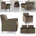 Ravenna Series Reception Seating by Lesro