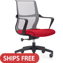 Click here for more Ravi Mesh Back Office Chair by Woodstock Marketing by Worthington